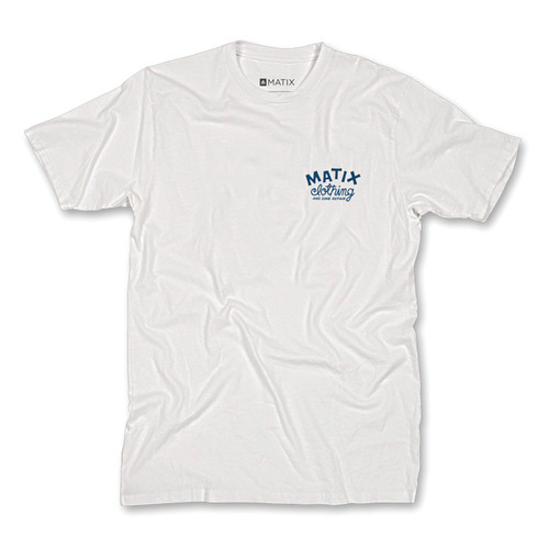 MATIX DING REPAIR T-SHIRT WHITE