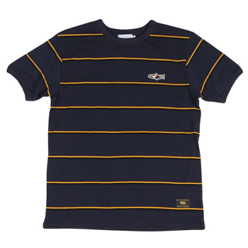 New troutfitter stripe ringer tee(navy)
