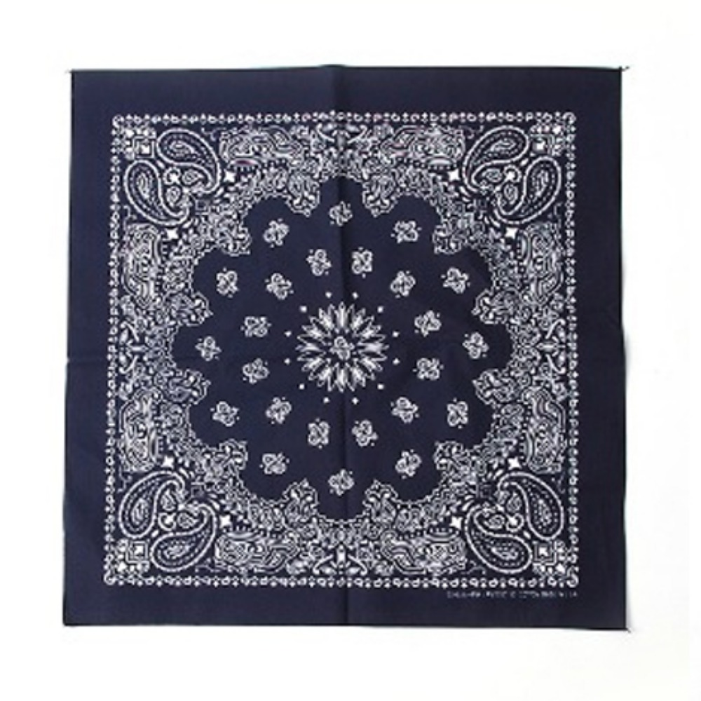 HAV A HANK Traditional Paisleys Bandana Navy