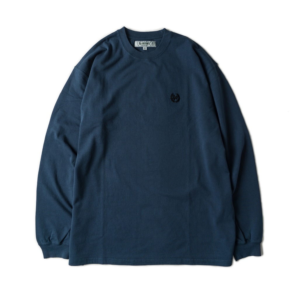 Dyeing Loose Fit Long Sleeve -L.Navy-