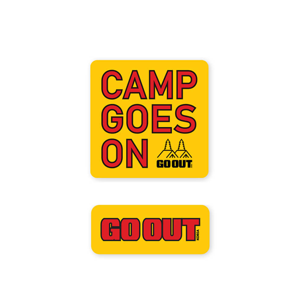 GO OUT KOREAWaterproof Sticker Set 4