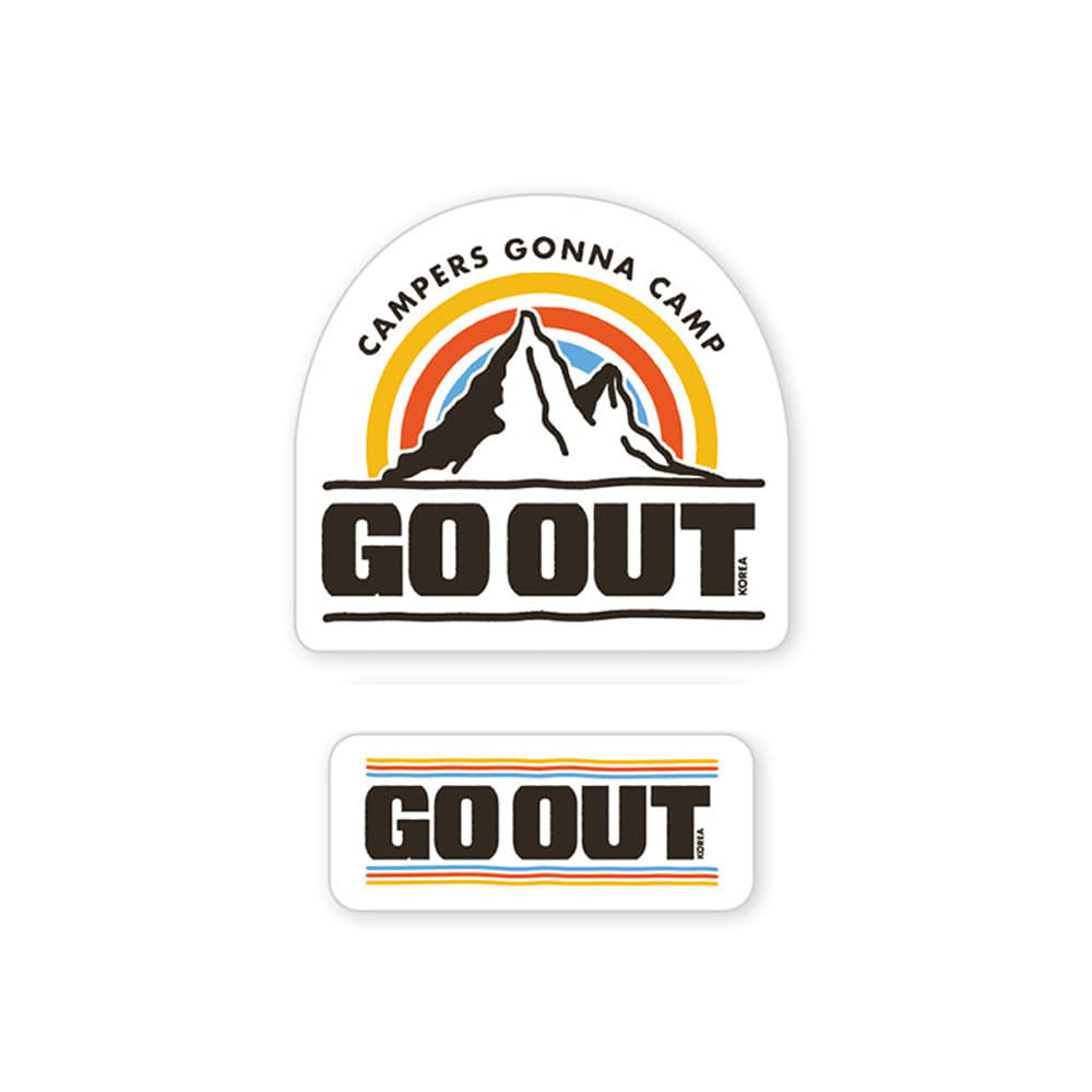 GO OUT KOREAWaterproof Sticker Set 1 30% OFF