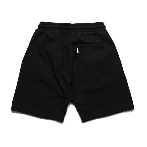 Standard Sweat Shorts -Black-