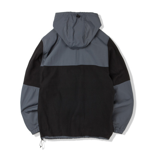 Sport Hoody -Black & C.Grey-