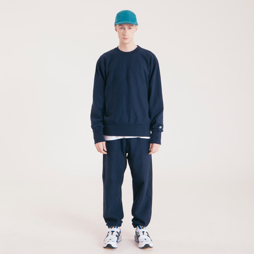 Jogger Sweat Pants Light ver. -Navy-
