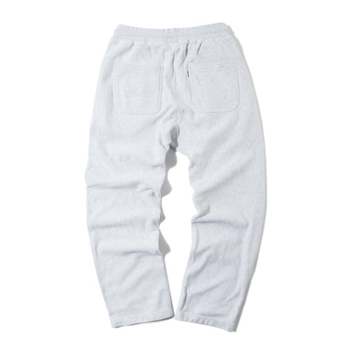 Wide Sweat Pants -W.Melange-