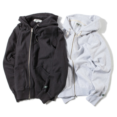 Standard Zip-Up Hoody -W.Melange-