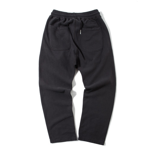 Wide Sweat Pants -Charcoal Grey-