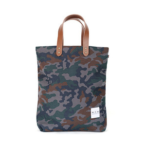 Gray Camoflage Small Bag
