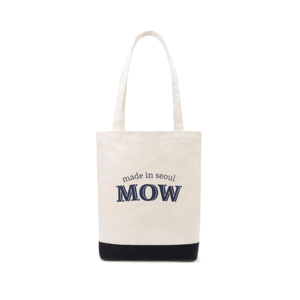 Logo eco bag navy