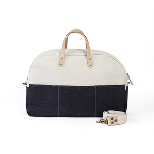 Selvedge luggage rugby bag