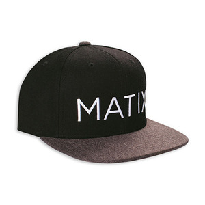 MATIX MONOSET TWO TONE HAT CHARCOAL