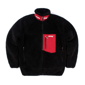 VACAY ORIGINAL BLACK_FLEECE ZIP-UP