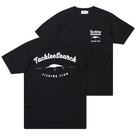 Fishing club S/S t-shirt(black)
