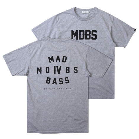 [MAD FOR BASS]MDBS S/S tshirt(grey)