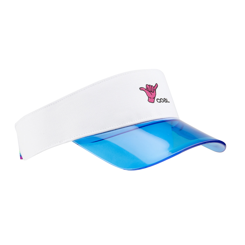 19SS The Sandy Visor White