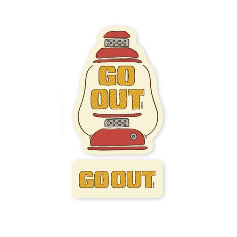 GO OUT KOREAWaterproof Sticker Set 5 30% OFF