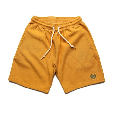 Standard Sweat Shorts -Mustard-