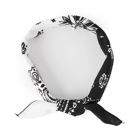 HAV A HANK Splits Bandana Black & White