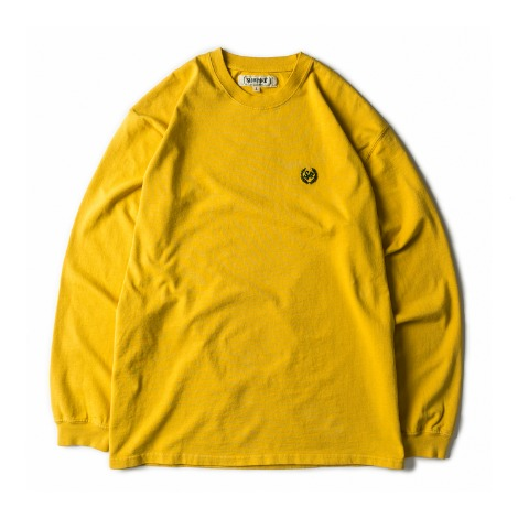 Dyeing Loose Fit Long Sleeve -D.Yellow-
