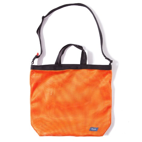 Mesh Cross Bag -Orange-