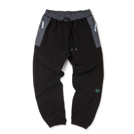 Jogger Sweat Pants Type.2 -Black-