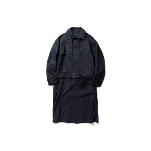민즈와일 Iridescent Split Over Coat (NAVY)